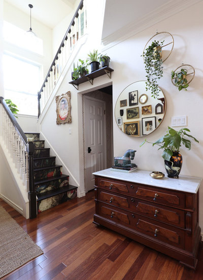 Eclectic Entry by Kristin Laing