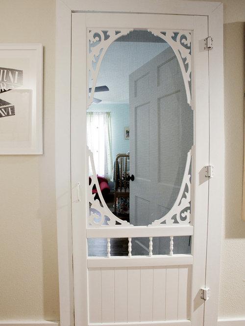 Decorative screen doors ideas pictures remodel and decor for Fancy storm doors