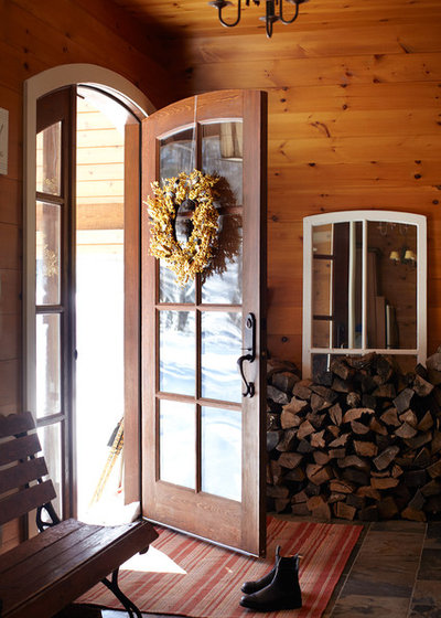 Rustic Entry by Lisa Petrole Photography