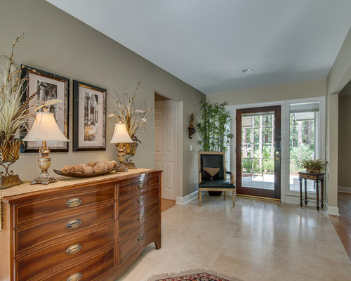 Transitional manchester entryway design ideas remodels for Transitional foyer ideas