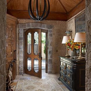 Entryway - traditional entryway idea in New York
