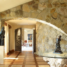 Mediterranean Entry by Remick Associates Architects + Master Builders
