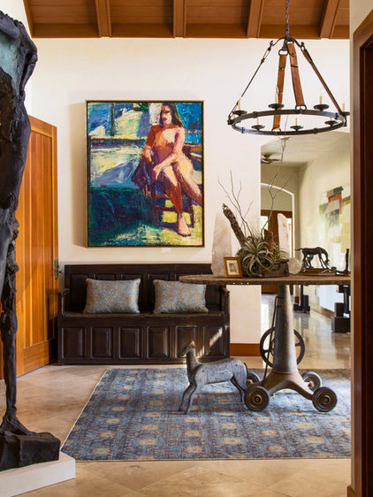 Eclectic Entry by Kathy Best Design