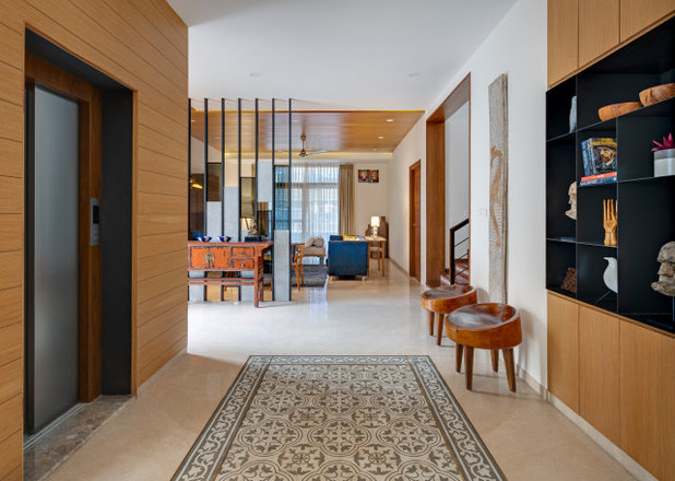 Contemporary Entry by Yellow Door Architects