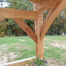 Traditional Entry by Black Dog Timberworks LLC