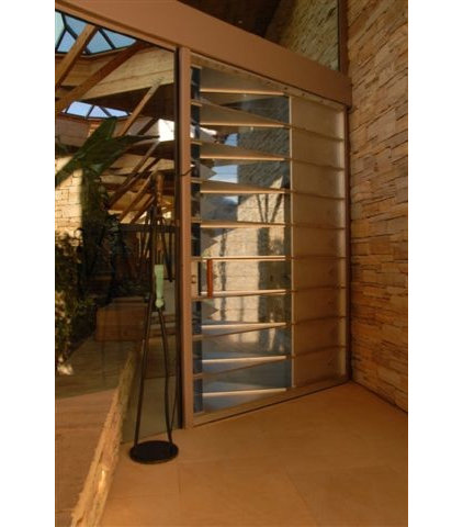 contemporary entry by Gordon Rogers INC/AIA