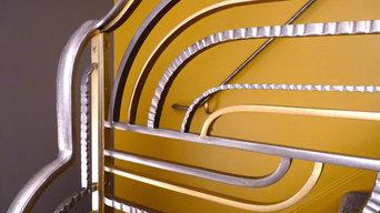 New Art Deco Railing