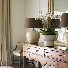 Eclectic Entry by shelley morris interiors