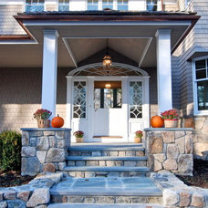 Traditional Entry by Riverside Design and Build