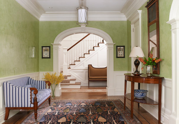 Traditional Entry by Michael Smith Architects
