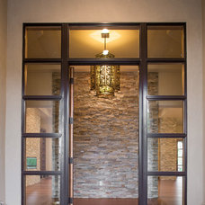 Contemporary Entry by Anne Sacco Interiors, LLC