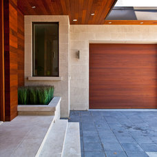 Contemporary Entry by South Park Design Build