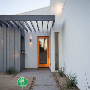 Mid-sized trendy entryway photo in Phoenix