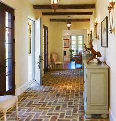 mediterranean entry by Barnes Vanze Architects, Inc