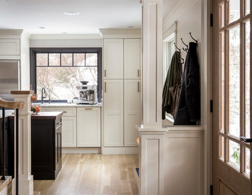 New Direction for an Open Kitchen in Wayland