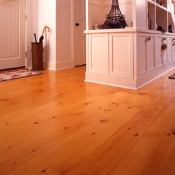 New England Eastern White Pine Wide Plank Flooring - Heritage Wide Plank Flooring