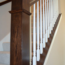 Traditional Entry by Michael Vincent Custom Homes, LLC