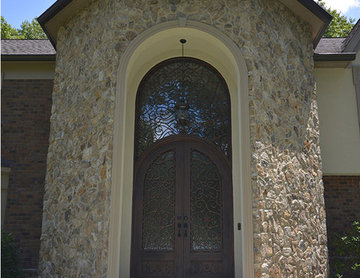 New Jersey Jewel - Double Door with Arched Transom