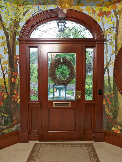 Elliptical Transom Home Design Ideas Pictures Remodel
