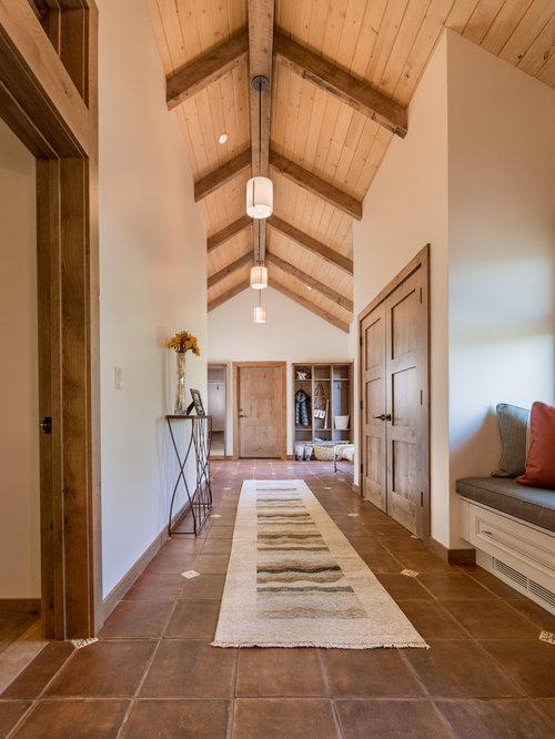 Open Foyer Quiz : Transitional entryway design ideas renovations photos
