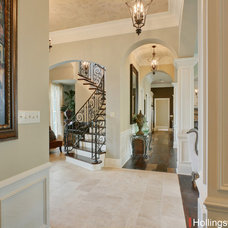 Traditional Entry by Hollingsworth Design