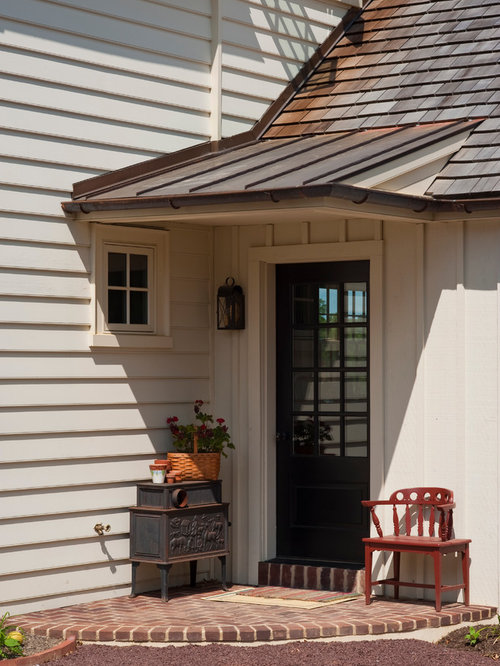Gable Roof Over Porch Houzz