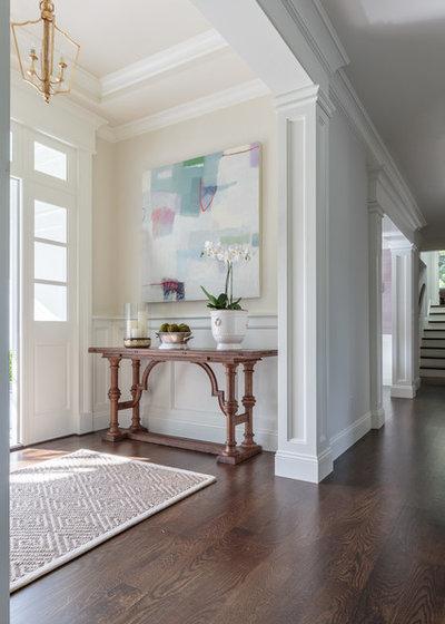 Traditional Entry by Nicole Benveniste Interior Design