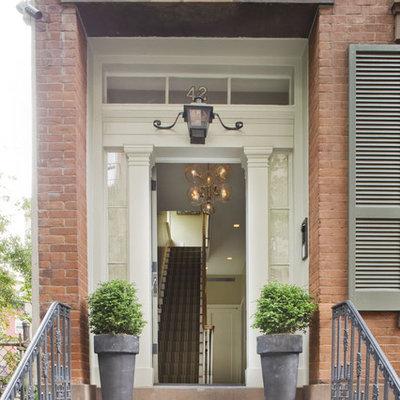 Elegant front door photo in New York