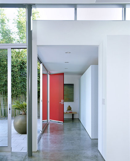 modern entry by Paul Davis Architects PC