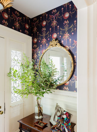 Traditional Entry by Kate Maloney Interior Design