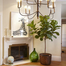 Eclectic Entry by Hudson Interior Design
