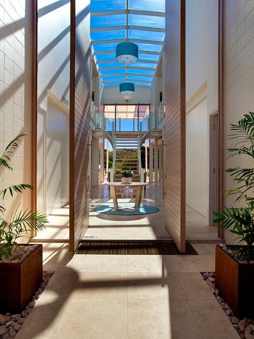 Foyer And Entryways Queensland : Contemporary sunshine coast entryway design ideas