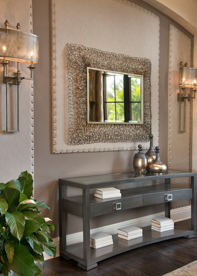 Transitional Entry by Norris Furniture & Interiors