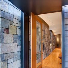 Modern Entry by Prentiss Architects