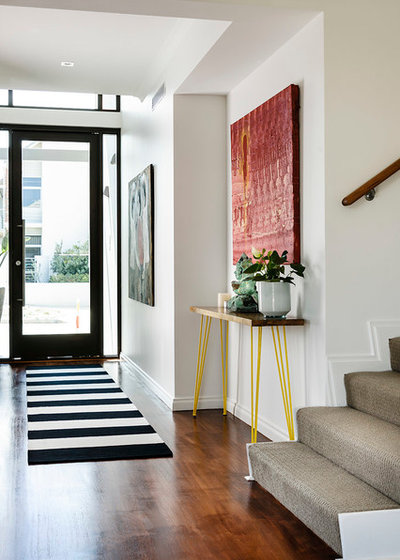 Contemporary Entrance by Collected Interiors