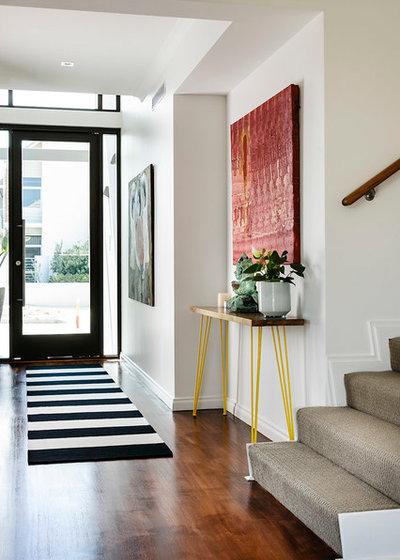 Contemporary Entré by Collected Interiors