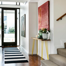 Contemporary Entry by Collected Interiors