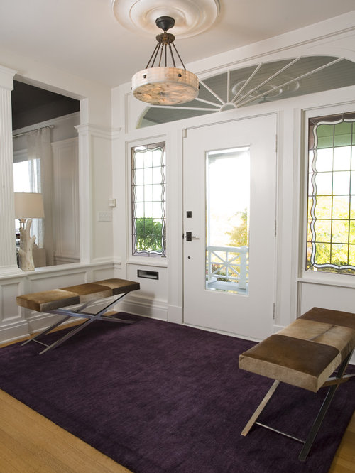 Entryway bench home design ideas pictures remodel and decor for Entryway dining room ideas