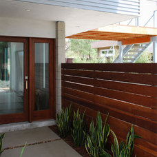 Modern Entry by JLC Architecture
