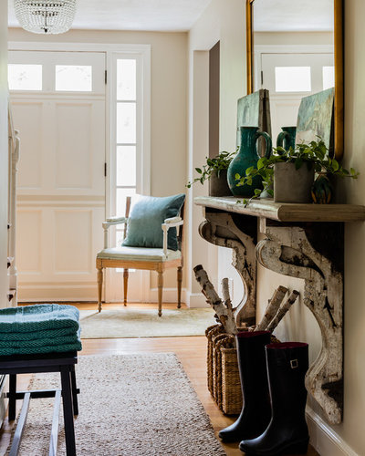 Eclectic Entry by KT2 Design Group