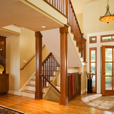 Traditional Entry by NW Renovations & Design Co.
