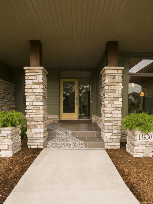 Front Pillar Home Design Ideas Pictures Remodel And Decor