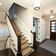 Traditional Entry by Oakley Home Builders