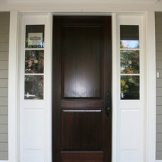 Traditional Entry by Ridley Windows & Doors