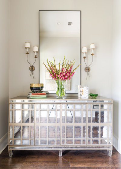 Transitional Entry by The French Mix Interior Design