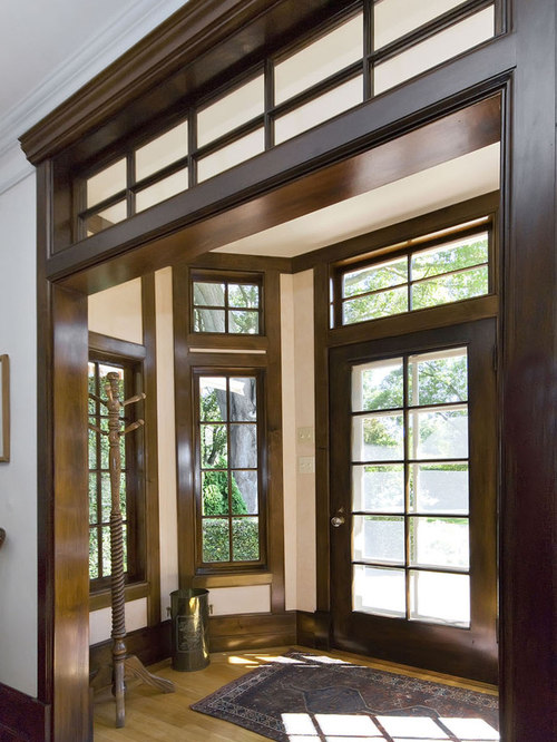 Dark Wood Window Trim Houzz