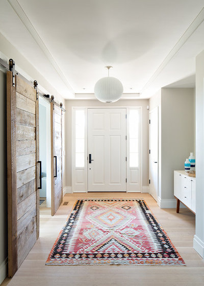 Farmhouse Entry By Hanley Development