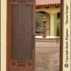 Mediterranean Entry by Rustic Elegance