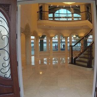 Entryway - mediterranean entryway idea in Tampa