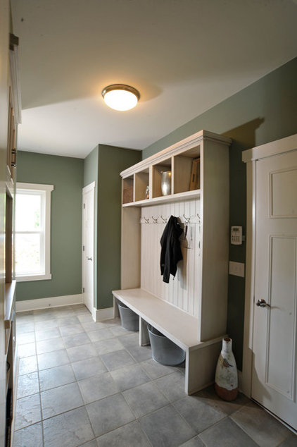 contemporary laundry room by Weaver Custom Homes
